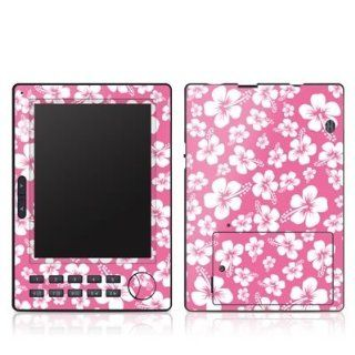 Aloha Pink Design Protective Skin Decal Sticker for Aztak EZ Reader Pocket Pro eBook Reader  Players & Accessories