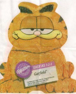 Wilton 1 2 3 Cake Pan Garfield the Cat (502 9403, 1978) Kitchen & Dining