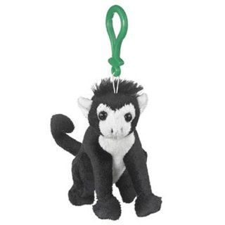 Plush Spider Monkey Stuffed Animal Backpack Clip Toy Keychain WildLife Hanger Toys & Games