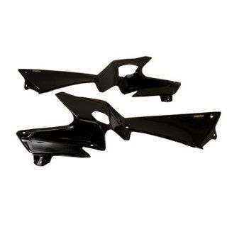 Maier Side Panels / Radiator Scoops Black POLARIS OUTLAW 450 MXR OUTLAW 525 IRS OUTLAW 525 S Automotive