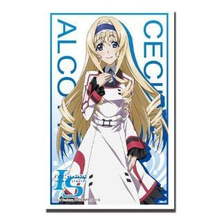 Bushiroad Sleeve Collection HG Vol.509 IS (Infinite Stratos) Cecilia Alcott Part.2 MTG WoW TCG CCG Anime Game Character Card Sleeves 60pcs Toys & Games