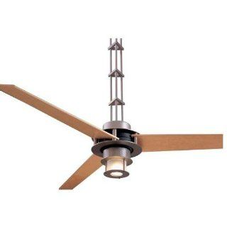 "Minka Aire MAI F529 L BS CH Brushed Steel/Chrome San Francisco 52"" 3 Blade Ceiling Fan"