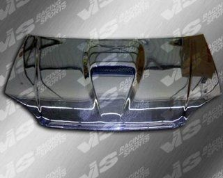 Honda Civic 99 00 2dr G FORCE Carbon Fiber Hood VIS Automotive