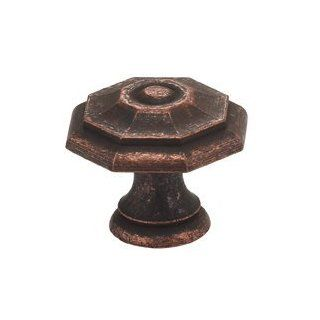 "Omnia 9145/30 VC Vintage Copper Knobs 1 3/16"" Mushroom Cabinet Knob from the Solid Brass Collection   Cabinet And Furniture Knobs"
