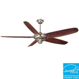 Hampton Bay Altura 68 in. Indoor Brushed Nickel Ceiling Fan 68056