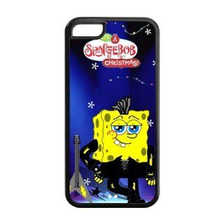 SpongeBob Squarepants iPhone 5C Case Cover with High Quality Cell Phones & Accessories