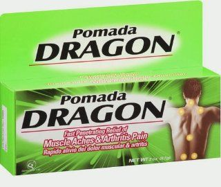 Pomada Dragon Genomma Lab   Pain Relieving Cream (Single Tube 2oz) Made in Korea Health & Personal Care