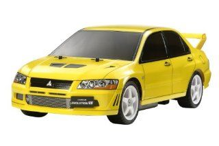 TAMIYA Radio Remort Control Car 58542 chassis Frame 1/10 RC No.544 Mitsubishi Lancer Evolution VII TT 01 TYPE E Toys & Games
