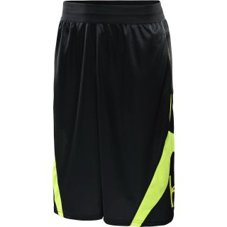 UNDER ARMOUR Mens EZ Mon Knee Basketball Shorts   Size Xl, Black/yellow