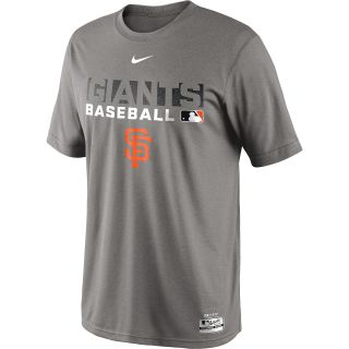NIKE Mens San Francisco Giants AC Dri FIT Legend Team Issue Short Sleeve T