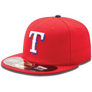 NEW ERA Mens Texas Rangers Authentic Collection Alternate 59FIFTY Fitted Cap