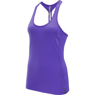UNDER ARMOUR Womens Fly By Stretch Mesh Tank Top   Size Small,