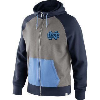 NIKE Mens North Carolina Tar Heels Vault AW77 Hoody   Size Medium, Navy