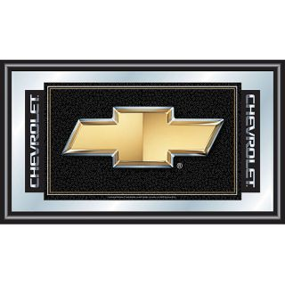 Trademark Global Chevy Chevrolet Bow Tie Framed Mirror (GM1500CH)