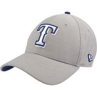 NEW ERA Mens Texas Rangers Custom Design 39THIRTY Stretch Fit Cap   Size S/m,