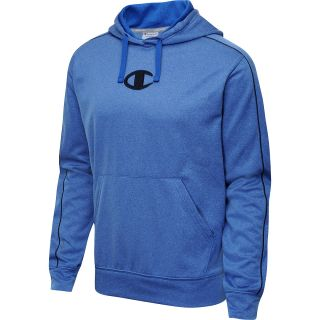 CHAMPION Mens PowerTrain Tech Fleece Pullover Hoodie   Size Medium, Team Blue