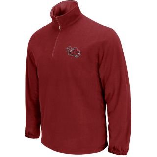 KNIGHTS APPAREL Mens South Carolina Gamecocks Fleece Quarter Zip Jacket   Size