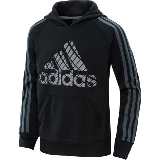 adidas Boys Tech Fleece Pullover Hoodie   Size Small, Black