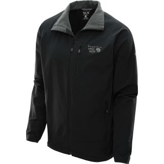 MOUNTAIN HARDWEAR Mens Chockstone Softshell Jacket   Size Small, Black