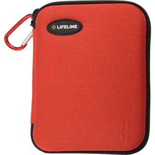 LIFELINE Large 85 Piece First Aid Kit