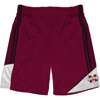 T SHIRT INTERNATIONAL Mens Mississippi State Bulldogs Pyramid Shorts   Size