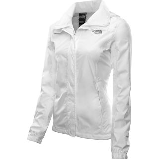 THE NORTH FACE Womens Resolve Rain Jacket   Size XS/Extra Small, White