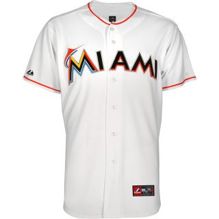 MAJESTIC ATHLETIC Mens Miami Marlins Giancarlo Stanton Home Replica Jersey