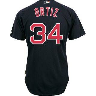 Majestic Athletic Boston Red Sox David Ortiz Authentic Big & Tall Alternate