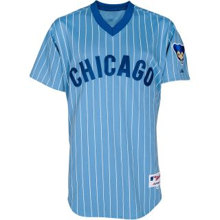 MAJESTIC ATHLETIC Mens Chicago Cubs 1978 Sunday Authentic Replica Road Jersey