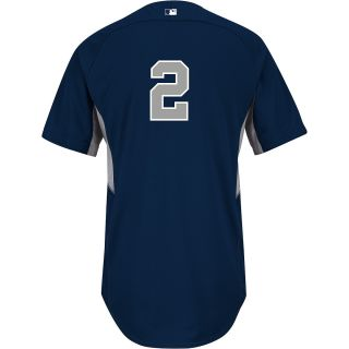 Majestic Athletic New York Yankees Derek Jeter Authentic Road Cool Base Batting