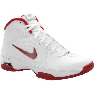 NIKE Womens Air Visi Pro III Basketball Shoes   Size 6, White/red