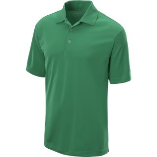 NIKE Mens Stretch Tech Golf Polo   Size Medium, Green/white