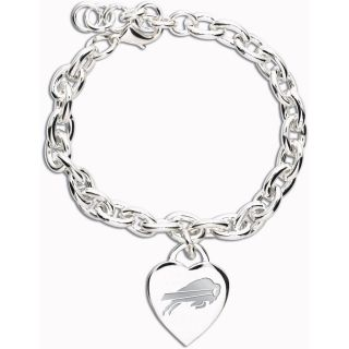 Wincraft Buffalo Bills Heart Charm Bracelet (62351091)
