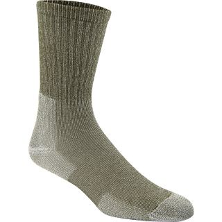 THORLO Unisex ULHX Ultra Light Crew Hiking Socks   Size Medium, Willow