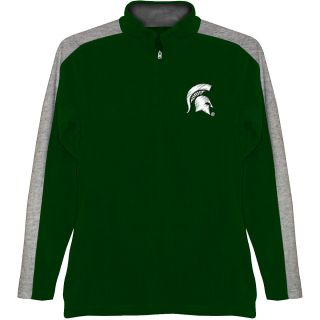 T SHIRT INTERNATIONAL Mens Michigan State Spartans BF Conner Quarter Zip