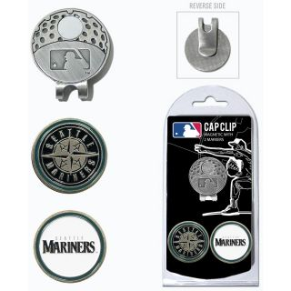 Team Golf MLB Seattle Mariners 2 Marker Cap Clip (637556974471)
