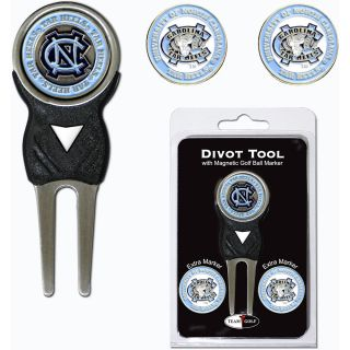 Team Golf University of North Carolina Tar Heels 3 Marker Signature Divot Tool