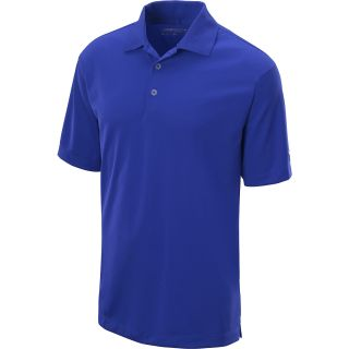 NIKE Mens Stretch Tech Golf Polo   Size Medium, Royal/white