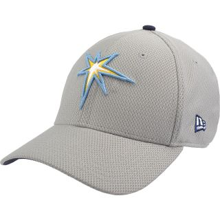 NEW ERA Mens Tampa Bay Rays Custom Design 39THIRTY Stretch Fit Cap   Size M/l,