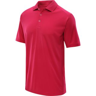 NIKE Mens Tech Jersey Golf Polo   Size Medium, Hyper Fuschia/white