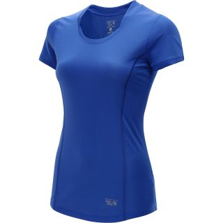 MOUNTAIN HARDWEAR Womens Wicked Lite Short Sleeve T Shirt   Size Large,