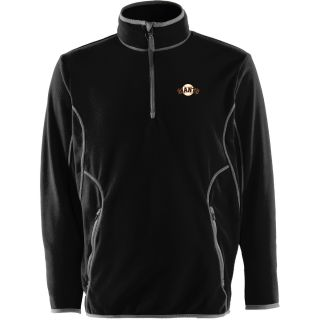 Antigua Mens San Francisco Giants Ice Polar Fleece Black Jacket   Size