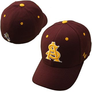 Zephyr Arizona State Sun Devils DH Fitted Hat   Maroon   Size 7, Arizona St.