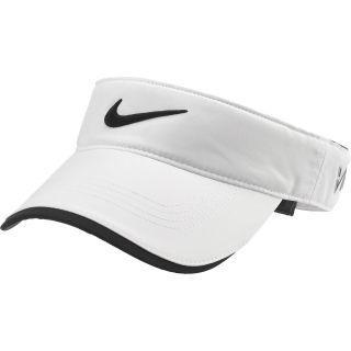 NIKE Mens Tour Adjustable Golf Visor, White/white