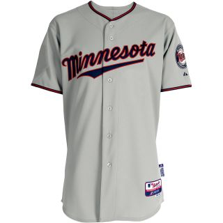Majestic Athletic Minnesota Twins Blank Authentic Road Cool Base Jersey   Size