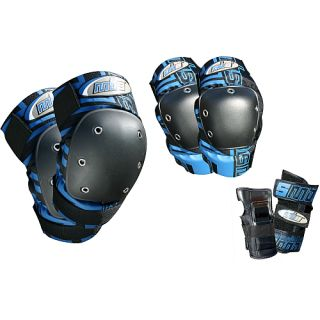 Atom Pro Tri Pack Pad Set   Size XL/Extra Large, Blue (27119 XL)