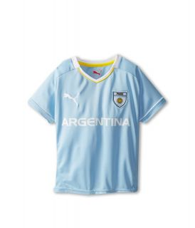 Puma Kids Argentina Tee Boys T Shirt (Blue)