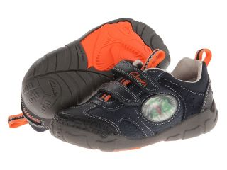 Clarks Kids Stompojaw Boys Shoes (Navy)