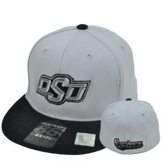 NCAA Top World 86 Fitted 6 7/8 to 7 1/4 Flat Hat Cap Oklahoma State Cowboys OSU  Sports Fan Baseball Caps  Sports & Outdoors