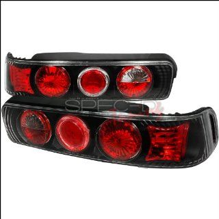 Acura Integra 1990 1991 1992 1993 Altezza Tail Lights   Black Smoked Automotive